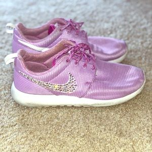 Sparkly Swarovski Nike running shoes